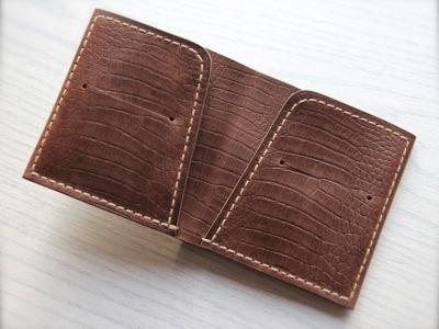 Портмоне двойного сложения (Bi-fold)