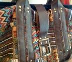 Сумка из текстиля - Вид спереди
